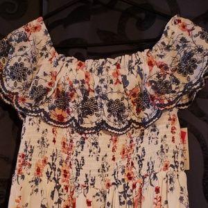 Xhilaration Dresses - 3/$50 - *NEW* Floral On/Off Shoulder Dress